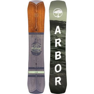 Arbor Westmark Camber Mid Wide 2017 - Snowboard