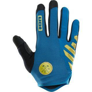ION Gloves Scrub AMP, ocean blue - Fahrradhandschuhe