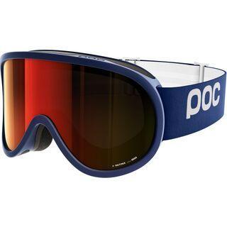 POC Retina, blue/Lens: persimmon red mirror - Skibrille