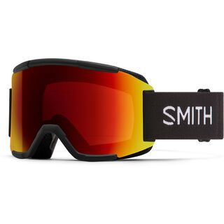 Smith Squad inkl. WS, black/Lens: cp sun red mir - Skibrille