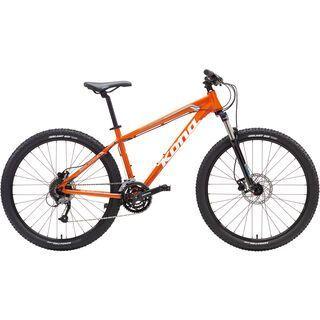 Kona Fire Mountain 27.5 2017, orange/white/cyan - Mountainbike