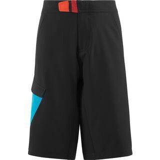 Cube Junior Shorts, black´n´blue´n´white - Radhose