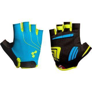 Cube Natural Fit Handschuhe Kurzfinger, blue´n´lime´n´black - Fahrradhandschuhe