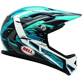 Bell Sanction, blue/black/white splatter - Fahrradhelm