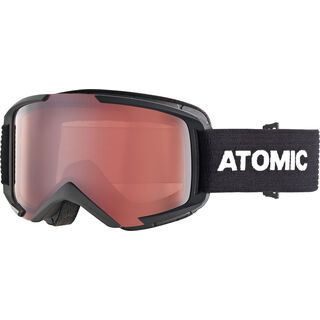 Atomic Savor M, black/Lens: silver flash - Skibrille