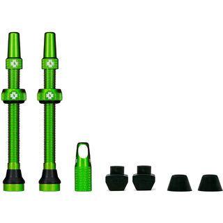 Muc-Off Tubeless Presta Valve - 60 mm green