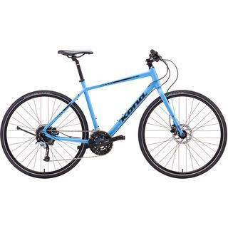 Kona Dew Plus 2017, blue/black - Fitnessbike