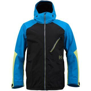 Burton [ak] 2L Cyclic Jacket, Bluebird Colorblock - Snowboardjacke