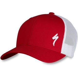 Specialized Podium Hat - Trucker Fit, red/white - Cap