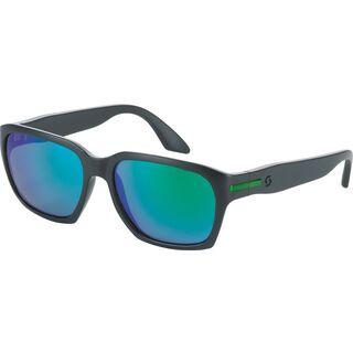 Scott C-Note, black matt/green chrome - Sonnenbrille