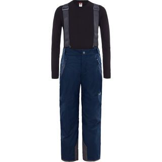 The North Face Youth Snowquest Suspender Plus Pant, cosmic blue - Skihose