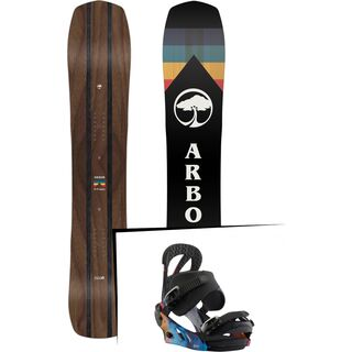 Set: Arbor A-Frame 2019 + Burton Scribe northern lights