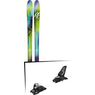 Set: K2 SKI FulLUVit 95Ti 2018 + Marker Squire 11 ID black