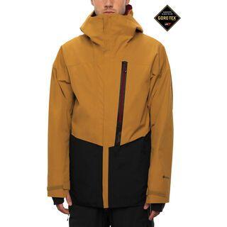 686 Men's GLCR Gore-Tex GT Jacket golden brown colorblock