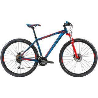 Cube Analog 29 2014, blue/flashred - Mountainbike