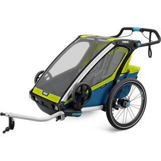 Thule Chariot Sport 2 2018, chartreuse/mykonos - Fahrradanhänger