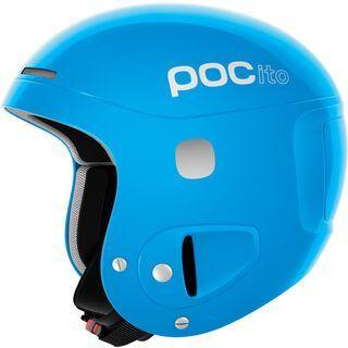 POC POCito Skull, flourescent blue - Skihelm