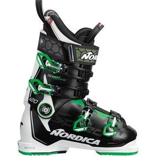 Nordica Speedmachine 120 2019, black-white-green - Skiboots