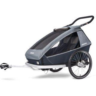 Croozer Kid Vaaya 2 2020, graphite blue - Fahrradanhänger