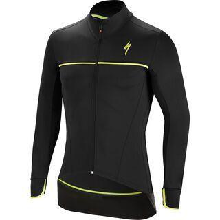 Specialized Element SL Elite Race Jacket, black/neon yellow - Radjacke
