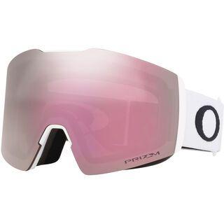 Oakley Fall Line XL Prizm, white/Lens: hi pink iridium - Skibrille