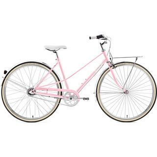 Creme Cycles Caferacer Lady Uno 2017, pearl pink - Cityrad