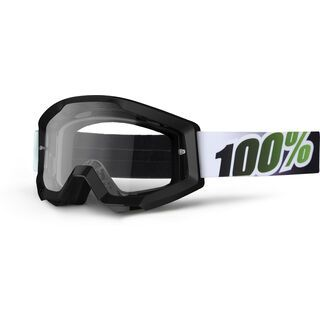 100% Strata, black lime/Lens: clear - MX Brille
