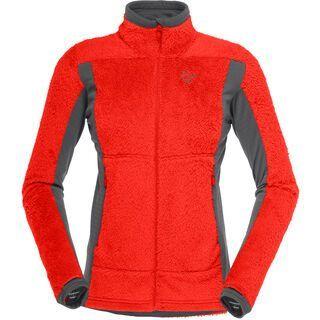 Norrona falketind Thermal Pro HighLoft Jacket, crimson kick - Thermojacke