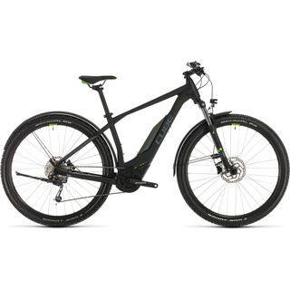 Cube Acid Hybrid ONE Allroad 500 29 2020, black´n´green - E-Bike