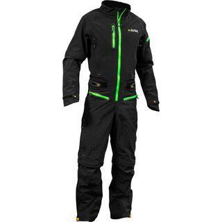 dirtlej DirtSuit SFD Edition, schwarz/grün - Rad Einteiler