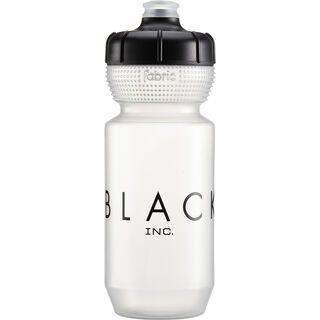 Cannondale Black Inc Bottle 600 ml, clear/black - Trinkflasche
