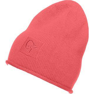Norrona /29 roll edge Beanie, crisp ruby - Mütze