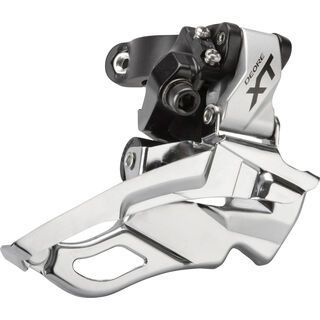 Shimano Deore XT FD-M781 3x10 Down Swing - Top-Pull, silber - Umwerfer