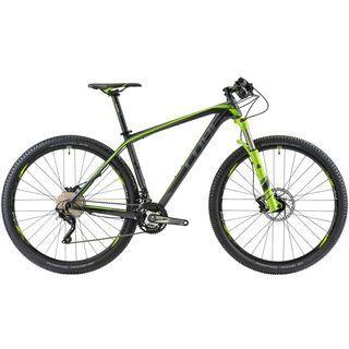 Cube Reaction GTC Pro 29 2014, black/green - Mountainbike