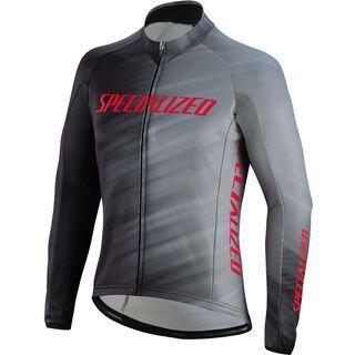Specialized Therminal RBX Comp Logo Faze Jersey LS, grey/black - Radtrikot