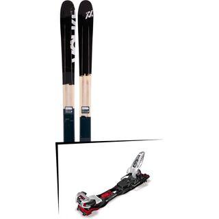 Set: Völkl 90 Eight 2017 + Marker Baron EPF 13, 110 mm 2015, black/white/red - Skiset
