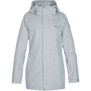 Zimtstern Jannaz Snow Jacket, light grey - Snowboardjacke