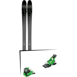 Set: K2 SKI Pinnacle 95Ti 2019 + Tyrolia Attack² 16 GW green