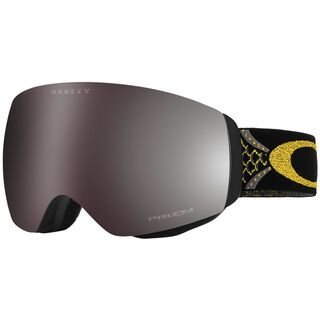 Oakley Flight Deck XM Jamie Anderson Sign., white/Lens: prizm black iridium - Skibrille