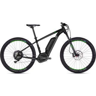 Ghost Hybride Teru B7.7+ AL 2018, black/gray/neon green - E-Bike