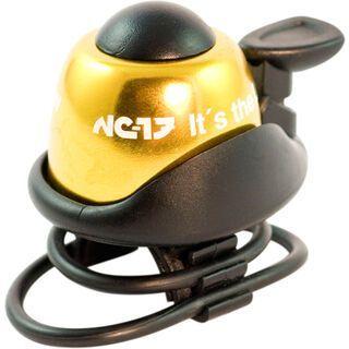 NC-17 Safety Bell, gold - Fahrradklingel