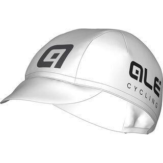 Ale Cotton Cap, white-black - Radmütze