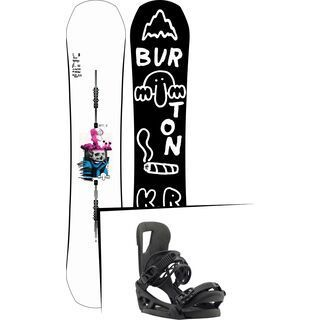 Set: Burton Kilroy Process 2019 + Burton Cartel EST black matte