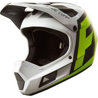 Fox Rampage Comp Creo Helmet, white/yellow - Fahrradhelm