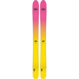 Set: DPS Skis Yvette 112 RP2 Foundation 2018 + Atomic Tracker 13 MNC black/silver
