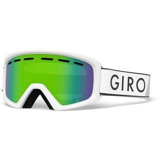 Giro Rev, white zoom/Lens: loden green - Skibrille