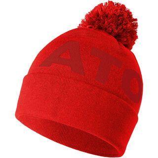 Atomic Alps Pom Beanie, bright red/dark red - Mütze