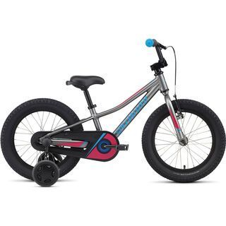 Specialized Riprock Coaster 16 2017, charcoal/pink/blue - Kinderfahrrad