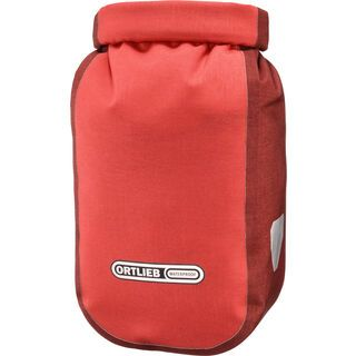 Ortlieb Fork-Pack Plus signal red-dark chili