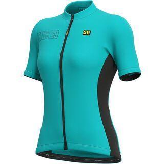 Ale Color Block Lady Jersey, turquoise - Radtrikot